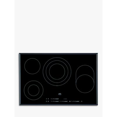 AEG HK854080FB Ceramic Hob, Black