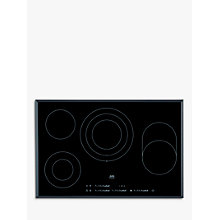 Buy AEG HK854080FB Ceramic Hob, Black Online at johnlewis.com