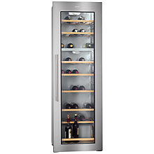 Buy AEG SWD81800G1 Integrated Wine Cabinet Online at johnlewis.com