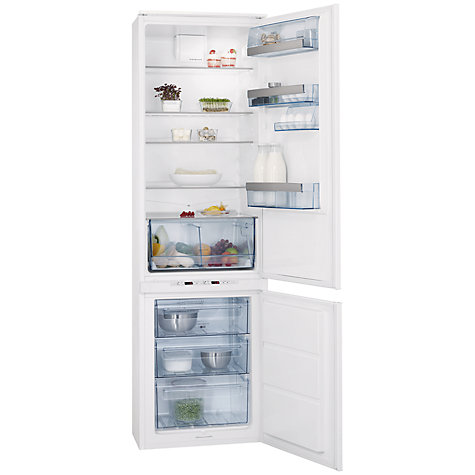 Buy AEG SCT71900S0 Integrated Fridge Freezer, A+ Energy Rating, 54cm Wide Online at johnlewis.com