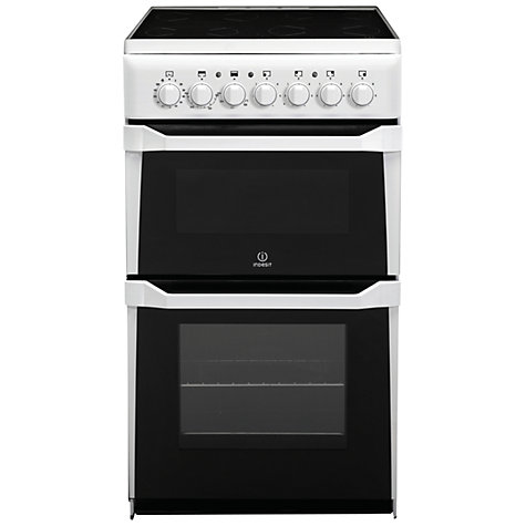 Buy Indesit ID50C1 Electric Cooker Online at johnlewis.com