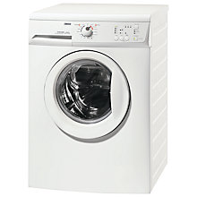 Buy Zanussi ZWH6160P Slimdepth Washing Machine, 7kg Load, A++ Energy Rating, 1600rpm Spin, White Online at johnlewis.com