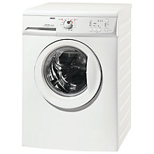 Buy Zanussi ZWG6161P Slimdepth Washing Machine, 6kg Load, A+ Energy Rating, 1600rpm Spin, White Online at johnlewis.com