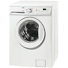 Buy Zanussi ZKG7165 Washer Dryer, 6kg Wash/4kg Dry Load, B Energy Rating, 1600rpm Spin, White Online at johnlewis.com