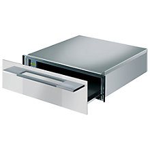 Buy Smeg CT15B-2 Warming Drawer, White Glass Online at johnlewis.com