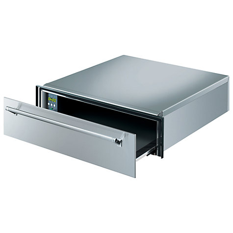 Buy Smeg CT15X Warming Drawer, Stainless Steel Online at johnlewis.com