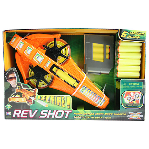 Buy Total X-Stream Rapid Fire Rev Shot Dart Shooter Online at johnlewis.com