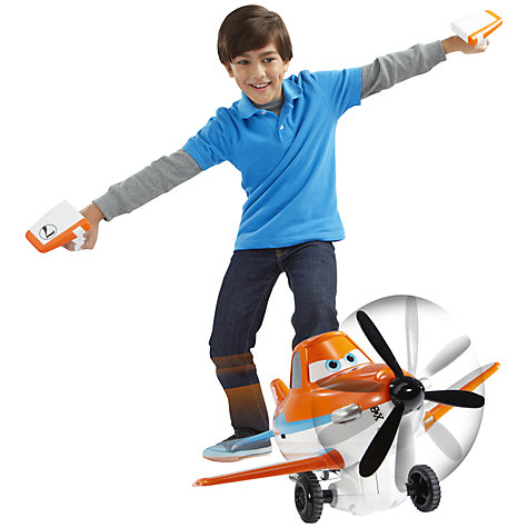 Buy Disney Planes Tilt And Fly Dusty Crophopper Plane Online at johnlewis.com