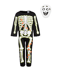 Buy John Lewis Skeleton Costume Online at johnlewis.com