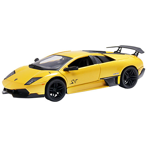 Buy John Lewis 1:24 Yellow Lamborghini Online at johnlewis.com