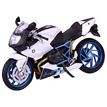 Buy John Lewis 1:18 BMW Motorbike Online at johnlewis.com