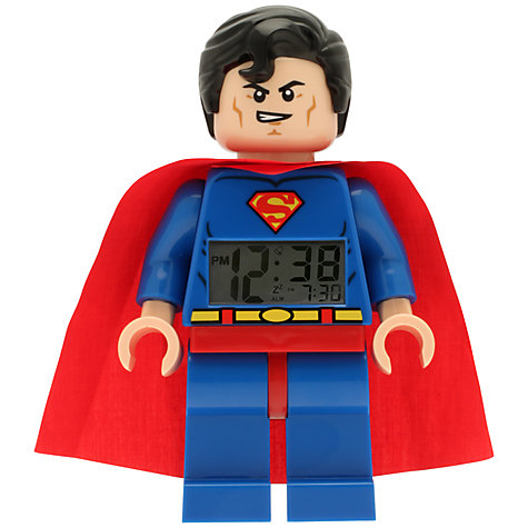 Buy LEGO Superman Clock Online at johnlewis.com