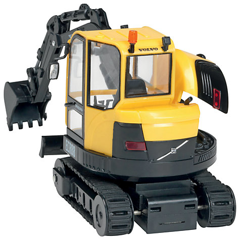 Buy John Lewis Yellow Mini Digger Online at johnlewis.com