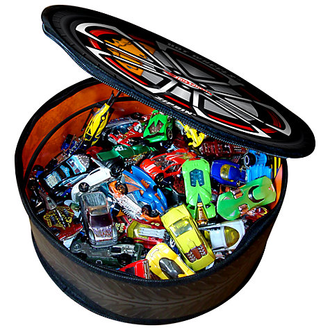 Buy Hot Wheels Zipbin Wheelie Bag Online at johnlewis.com