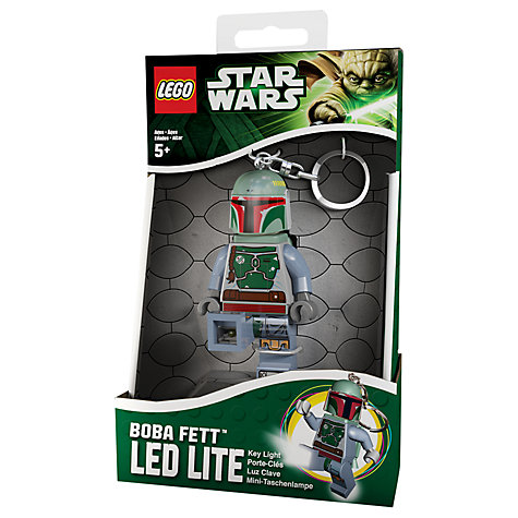 Buy LEGO Boba Fett Key Light Online at johnlewis.com