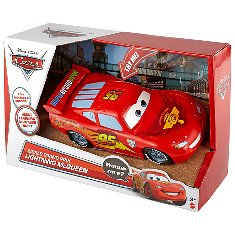 Buy Disney Cars World Grand Prix Lightning McQueen Online at johnlewis.com