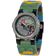 Buy LEGO Star Wars Boba Fett Watch, Multi Online at johnlewis.com