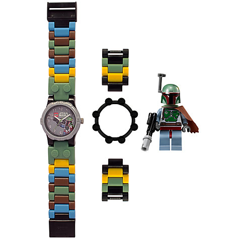 Buy LEGO Star Wars Bobba Fett Watch, Multi Online at johnlewis.com