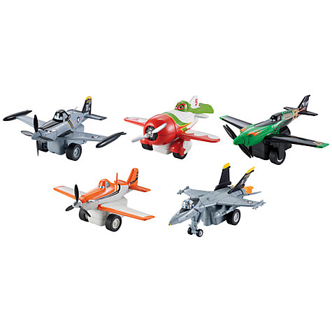 Buy Disney Planes Pull & Fly Buddies, Assorted Online at johnlewis.com
