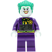Buy LEGO The Joker Clock Online at johnlewis.com