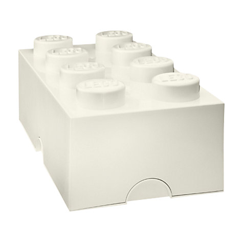 Buy LEGO 8 Stud Storage Brick Online at johnlewis.com