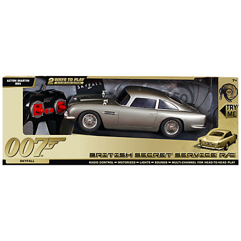 Buy James Bond Remote Control Aston Martin DB5 Car Online at johnlewis.com