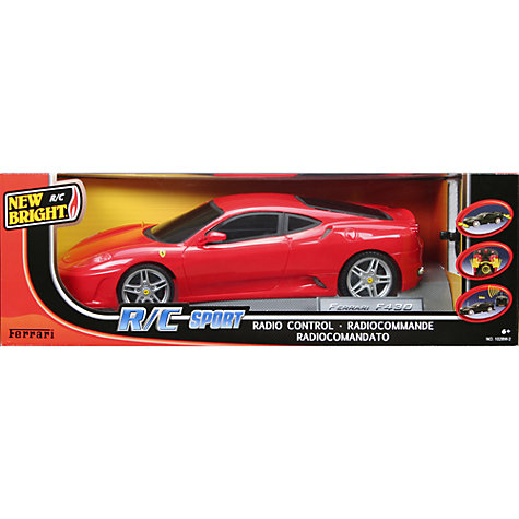 Buy New Bright Fiorano Ferrari Remote Control Car Online at johnlewis.com