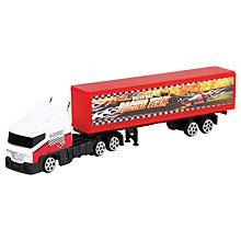 Buy John Lewis Red Truck Online at johnlewis.com