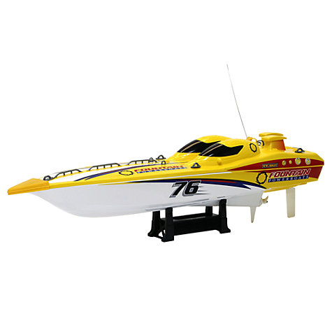 Buy New Bright 23-Inch Remote Control Fountain Boat Online at johnlewis.com