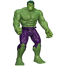 Buy Marvel Avengers Titan Hero The Hulk Online at johnlewis.com
