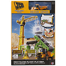 Buy JCB Recycling Or Construction Plant Play Set, Assorted Online at johnlewis.com