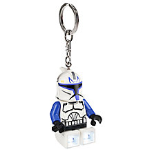Buy LEGO  Star Wars Clone Wars Captain Rex Key Light Online at johnlewis.com