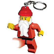 Buy LEGO Santa Key Light Online at johnlewis.com
