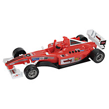 Buy John Lewis Red Formula One Race Car Online at johnlewis.com