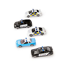 Buy John Lewis Police Vehicles, Pack of 5 Online at johnlewis.com