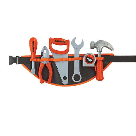 Buy Black & Decker Toy Tool Belt Online at johnlewis.com