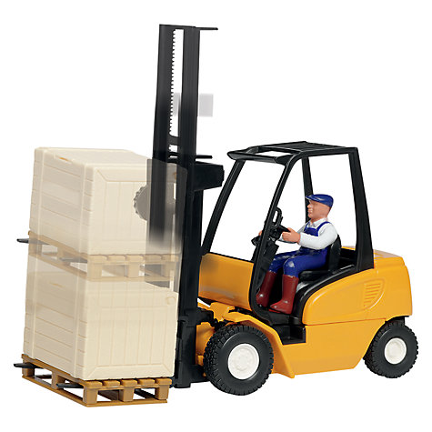 Buy John Lewis Forklift Truck, Orange Online at johnlewis.com