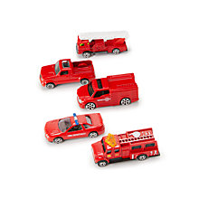 Buy John Lewis Fire Vehicles, Pack of 5 Online at johnlewis.com