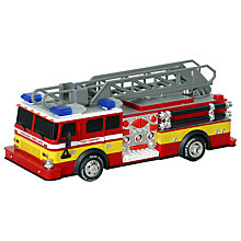 Buy John Lewis Large Fire Engine Online at johnlewis.com