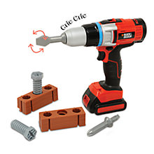 Buy Black & Decker Toy Drill Set Online at johnlewis.com