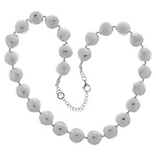 Buy Nina B Sterling Silver Nugget Necklace Online at johnlewis.com