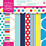 Docrafts Papermania Capsule Collection Spots and Stripes Paper, Pack of 32