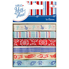 Buy Docrafts Papermania Ahoy There Ribbon, Pack of 6, Multi Online at johnlewis.com