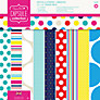 Docrafts Papermania Capsule Collection Spots and Stripes Paper Pack, Multi
