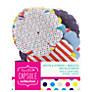 Docrafts Papermania Capsule Collection Spots and Stripes Big Bloomers, Pack of 32