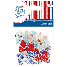 Buy Docrafts Papermania Ahoy There Ribbon Bows, Pack of 20, Multi Online at johnlewis.com