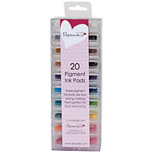 Buy Docrafts Papermania Mini Ink Pads Pigment, Pack of 20, Multi Online at johnlewis.com