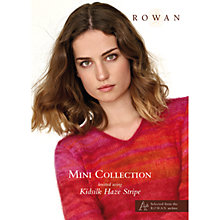 Buy Rowan Mini Collection Kidsilk Haze Stripe Knitting Pattern Book Online at johnlewis.com