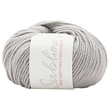 Buy Sirdar Sublime Baby Cashmere Mernino Silk DK Yarn, 50g Online at johnlewis.com