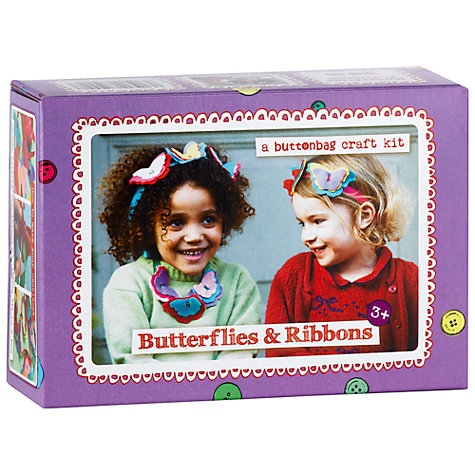 Buy Buttonbag Butterflies and Ribbons Kit Online at johnlewis.com